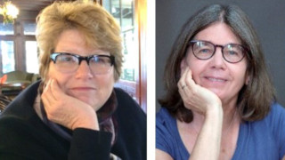 Anne Ackerson (left) and Joan Baldwin (right)
